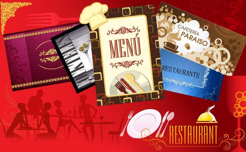 menus para restaurantes
