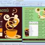 Plantilla de Menú para Cafetería