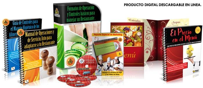 Pack de formatos y controles para Restaurantes