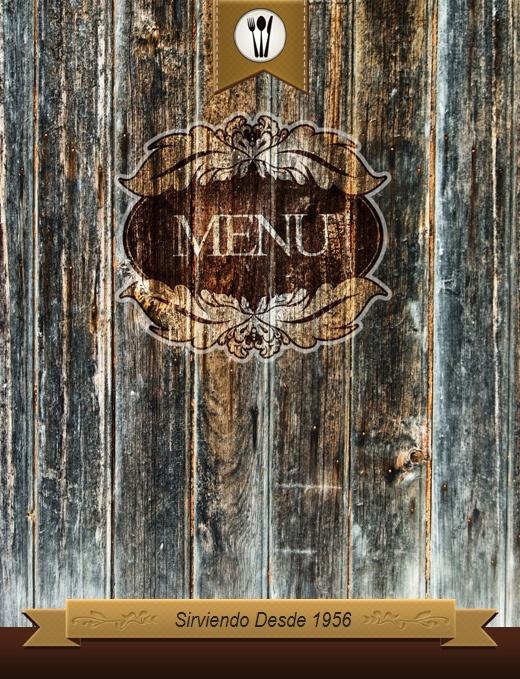 Carta menú de Restaurante internacional plantilla Word ...