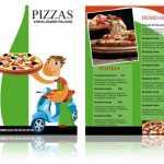 Plantilla para menú de Pizzas – Pizzería