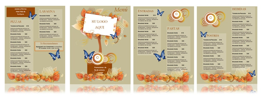 menu-Floral