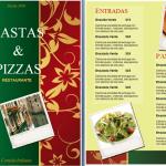 Plantilla para Menú de Restaurante Italiano