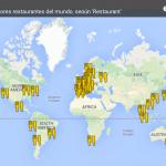 mapa 50 mejores restaurantes 2015