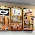 precios en el menu